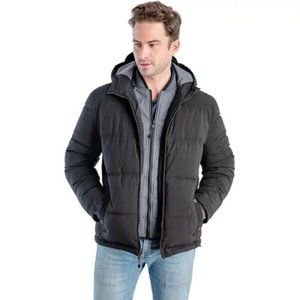 F.O.G. by London Fog BNWOT quilted puffer jacket L